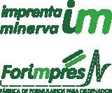 imprenta minerva forimpres logo