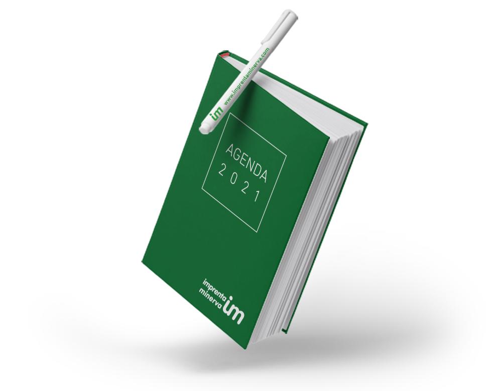 serigrafía agenda bolígrafo