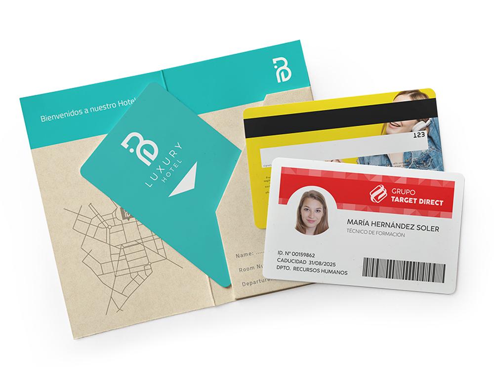 tarjetas plásticas